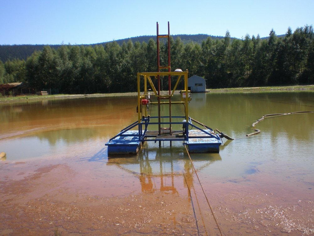 Suction pontoon for sludge<br />